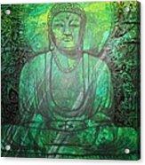 Budda's Garden Acrylic Print