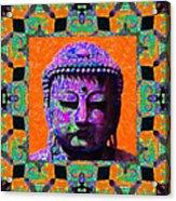 Buddha Abstract Window 20130130p85 Acrylic Print
