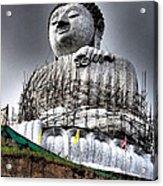 Buddha Aura Acrylic Print