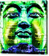 Buddha Acrylic Print by Daniel Janda