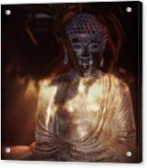 Buddha Acrylic Print by Eva Thomas