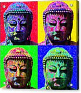 Buddha Four 20130130 Acrylic Print by Wingsdomain Art and Photography
