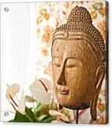 Buddha Head Acrylic Print
