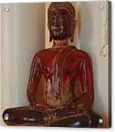 Buddha In Savannah Acrylic Print