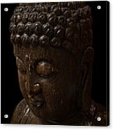 Buddha In The Dark Acrylic Print