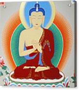 Buddha Maitreya Acrylic Print