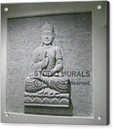 Buddha  Acrylic Print by Milind Badve