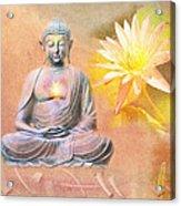 Buddha Of Compassion Acrylic Print