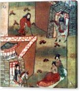 Buddha Prince Siddhartha Acrylic Print