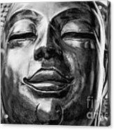 Buddha Smile Acrylic Print