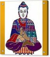 Buddha Spirit Humanity Buy Faa Print Products Or Down Load For Self Printing Navin Joshi Rights Mana Acrylic Print