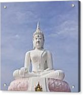 Buddha Statue Acrylic Print by Tosporn Preede