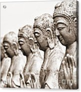 Buddha Statue  Acrylic Print