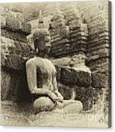 Buddha Sukhothai Thailand 5 Acrylic Print
