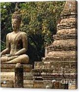 Buddha Sukhothai Thailand 6 Acrylic Print