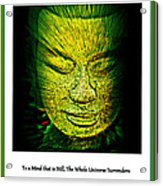 Buddhas Mind II Acrylic Print