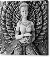 Buddhist Carving 02 Acrylic Print