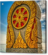 Buddhist Icon Acrylic Print by Adrian Evans