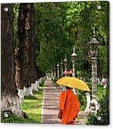 Buddhist Monk 01 Acrylic Print