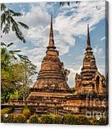 Buddhist Park Acrylic Print