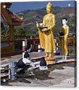 Buddhist Statues Acrylic Print