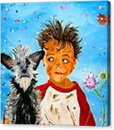 Buddies Acrylic Print