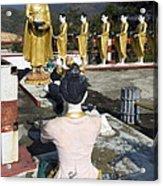 Buddist Shrine Acrylic Print