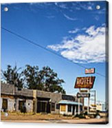 Budget Motel Acrylic Print