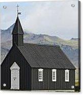 Budir Church Stadarsveit, Snaefellsnes Acrylic Print