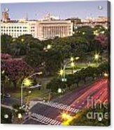 Buenos Aires City Acrylic Print