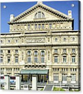 Buenos Aires Opera House - Argentina -  Acrylic Print