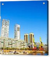 Buenos Aires Waterfront Acrylic Print