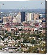 Buffalo And Niagara Falls Skylines Acrylic Print