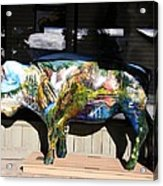 Buffalo Art Acrylic Print
