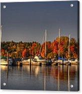 Buffalo Bay Marina 1 Acrylic Print