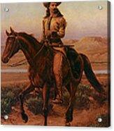Buffalo Bill On Charlie Acrylic Print