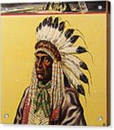 Buffalo Bills Wild West Acrylic Print