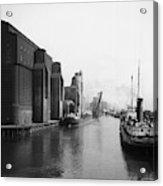 Buffalo Canal Harbor Acrylic Print