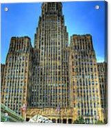 Buffalo City Hall Acrylic Print by Tammy Wetzel