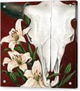Buffalo Lilies Acrylic Print