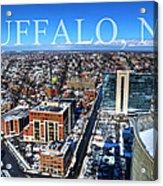Buffalo Ny Winter 2013 Acrylic Print
