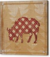 Buffalo Plaid Acrylic Print