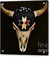 Buffalo Skull Acrylic Print
