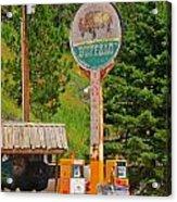 Buffalo Trading Post Acrylic Print