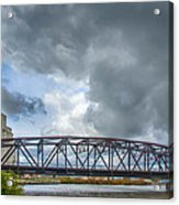 Buffalo's Ohio Street Bridge Acrylic Print