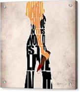 Buffy The Vampire Slayer Acrylic Print