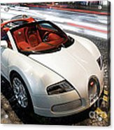 Bugatti Is Art In Motion  Acrylic Print