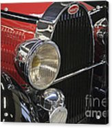 Bugatti Typ 57 Of 1935 Classic Car Acrylic Print