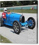 Bugatti Type 35 Racer Acrylic Print