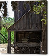Buggy In The Barn Acrylic Print